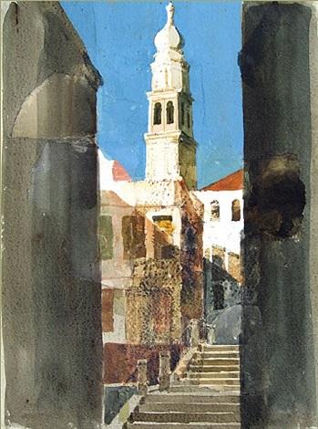 venetian church by safet zec