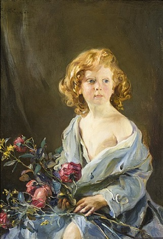 portrait of the artist's son, paul by philip alexius de lászló