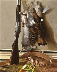 shotgun and game by george cope