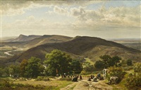 the pilgrims of st. roche by worthington whittredge