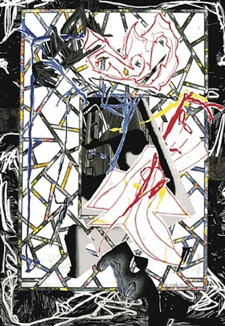 the counterpane by frank stella