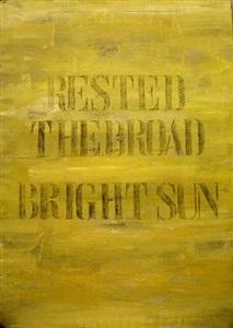rested the broad bright sun by francesco correggia