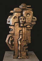 totem with snake by ernst neizvestny