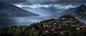 escape to lake como by david drebin