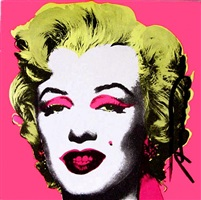 marilyn invitation by andy warhol