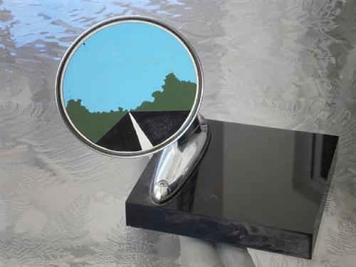 side view mirror by allan d'arcangelo