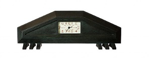 extremely rare clock by albert cheuret 1925 by albert cheuret