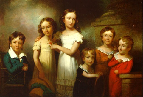 the children of henry livingston by henry inman