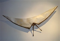 importante applique « archéoptéryx » / wall-sconce as a prehistoric bird by felix agostini
