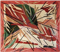 untitled (rug) by charles arnoldi