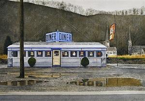 jim's diner by john baeder