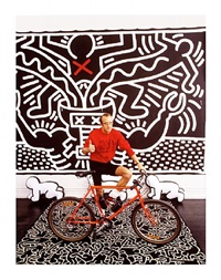 keith haring by thomas hoepker