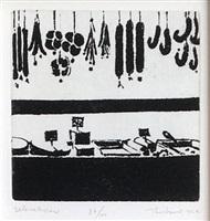 delicatessen (delights) by wayne thiebaud