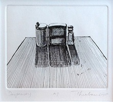 dispensers (delights) by wayne thiebaud