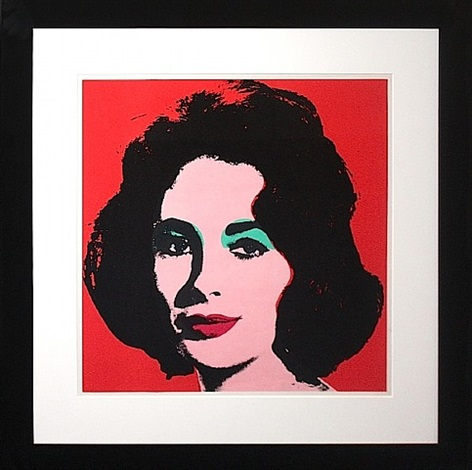liz 1964 by andy warhol