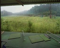 golf driving range, mukaihata, okuma-machi, futaba, fukushima nuclear exclusion zone by yishay garbasz