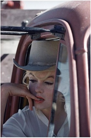 """usa. nevada. reno. us actress marilyn monroe during the filming of """"the misfits"""" by john huston. 1960. by eve arnold"""