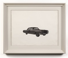 untitled (car) by andy warhol