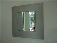 square mirror by lorenzo burchiellaro