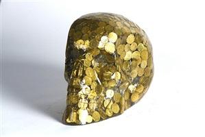 crâne gold by alben