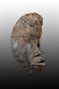 dan runner mask, liberia by unknown