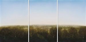 piedmont altarpiece (triptych) by peter w. brooke