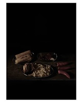 last meal on death row, texas (rudy esquivel) by mat collishaw