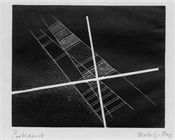 untitled (construction) by lászló moholy-nagy
