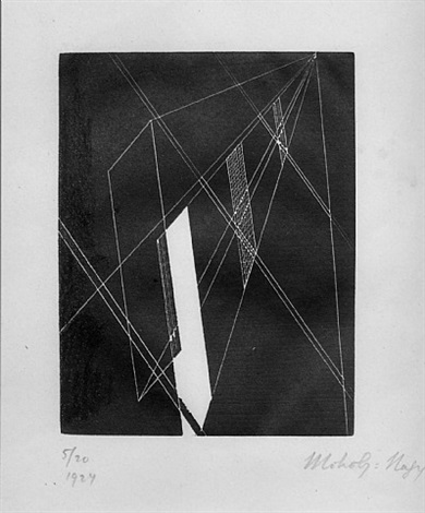 untitled (composition) by lászló moholy-nagy