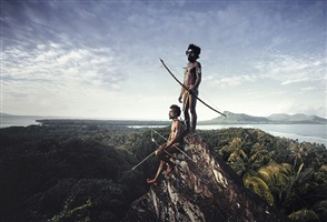 rock of rah rah lava island, torba province, vanuatu islands by jimmy nelson