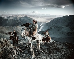 altantsogts, bayan olgii, mongolia by jimmy nelson