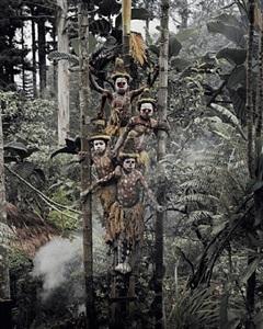 gogine boys goroka, eastern highland, papua new guinea by jimmy nelson