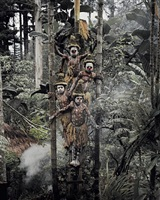 gogine boys goroka, eastern highland, papua new guinea by jimmy nelson