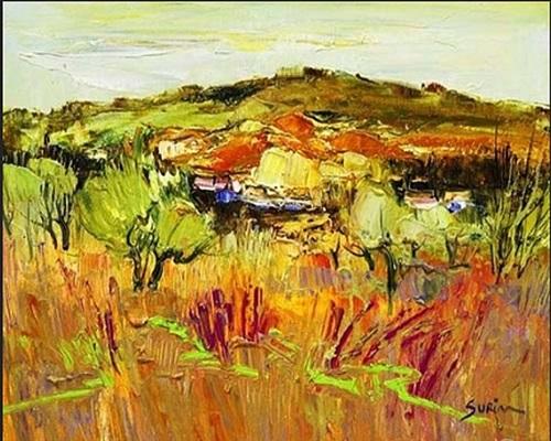 paysage des ocres by jean-paul surin