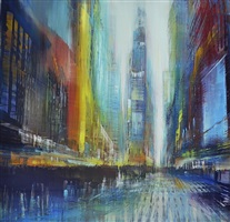 fast light, nyc by david allen dunlop