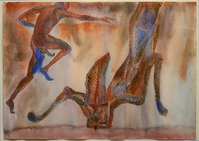 conejo cayendo (falling rabbit) by francisco toledo