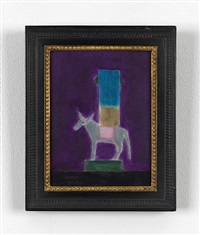 donkey barometer by craigie aitchison