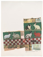 rabbit chow by robert rauschenberg