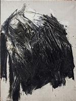 serie negra nº2 by rafael canogar