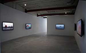 installation view by peter campus