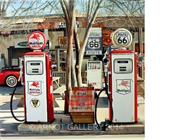 mobil gas special @ historic route 66 by luigi rocca