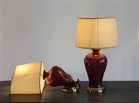 red lamp f1 & f2 by beth campbell