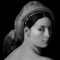 artificial theater - profile portraits of unknown women by zhang wei