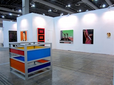 exhibition view zona maco fair