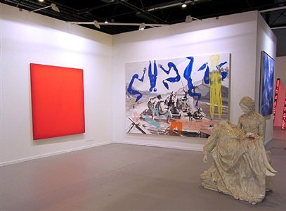 exhibition view arco madrid