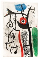 l'etrangle by joan miró