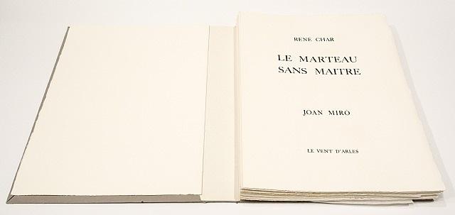 le marteau sans maitre by joan miró