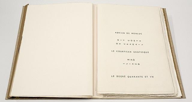 le courtisan grotesque by joan miró
