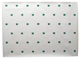 polytoile, impronte di pennello nº 50 a intervalli di 30 cm by niele toroni