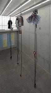 in the stomach of the predators<br>installation view by alice creischer